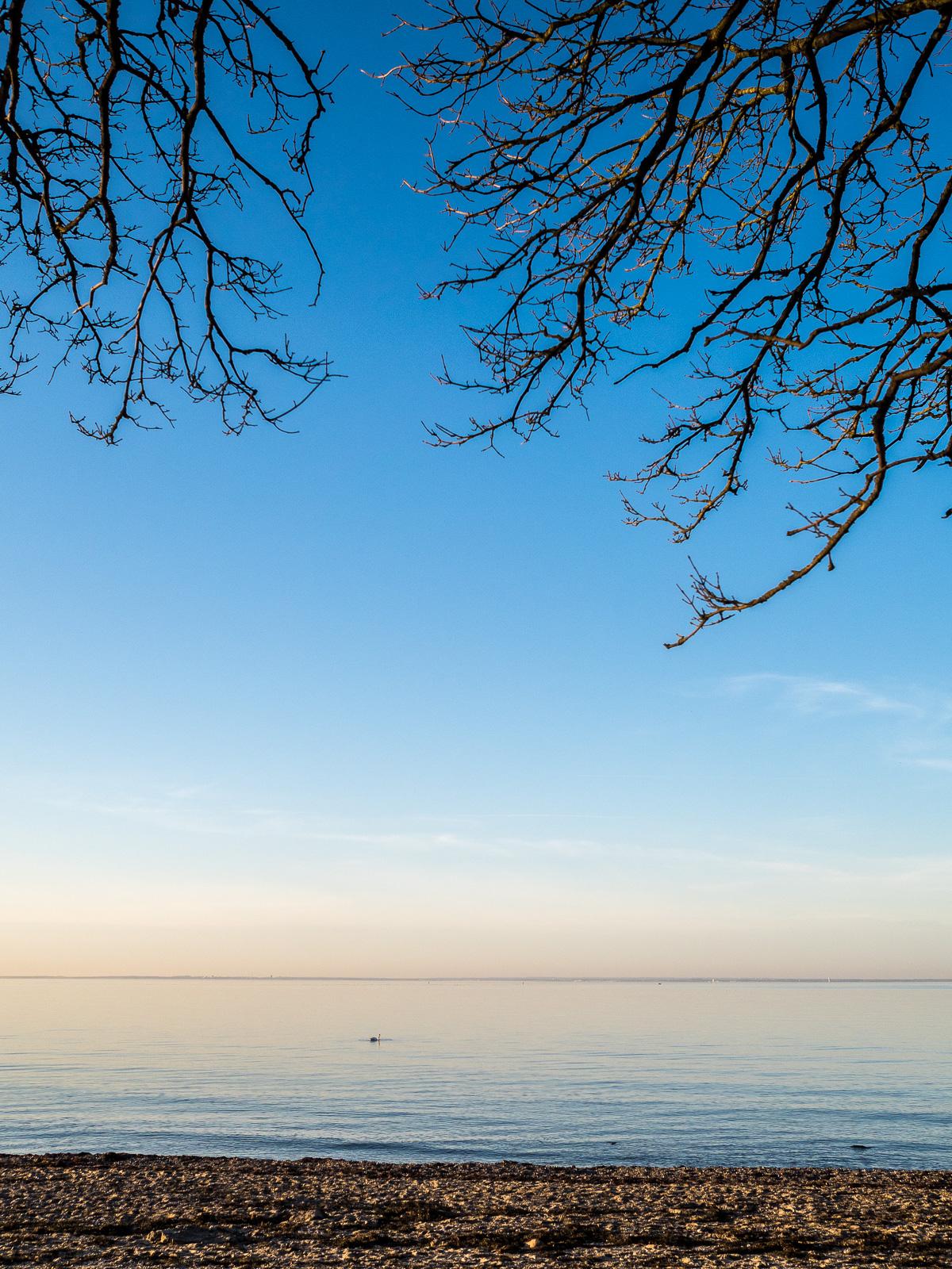 Lübecker Bucht, Abendlicht